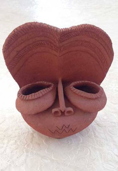 handmade-mask-clay-works