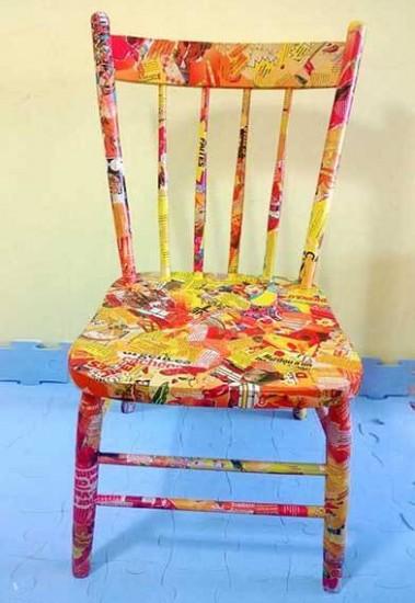handmade-orange-chair