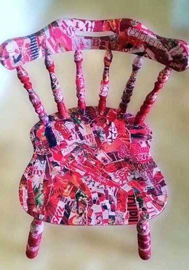 handmade-red-chair